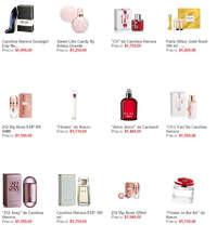 Catálogo Perfumería Sanborns