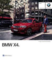 Ficha Técnica BMW X4 xDrive35iA M Sport Automático 2017