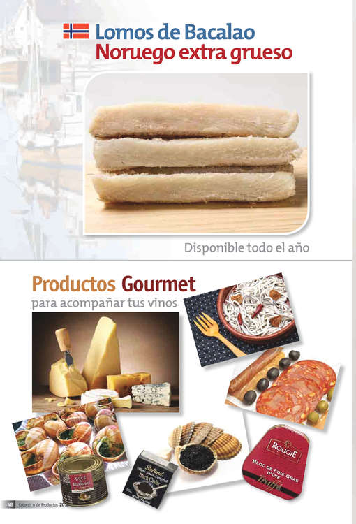 Ofertas de La Castellana, Catálogo 2016