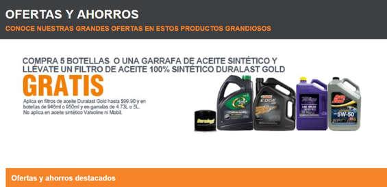 Ofertas de AutoZone, Ofertas