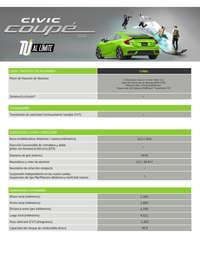 Ficha técnica Civic Coupe