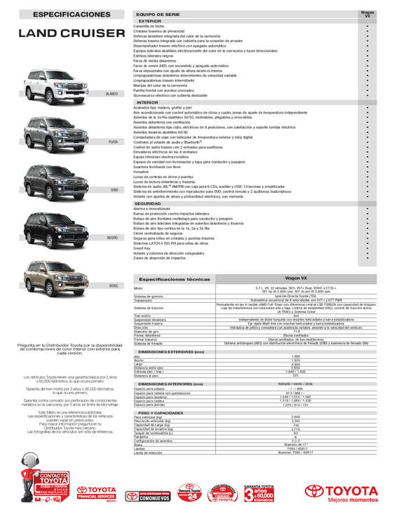 Ofertas de Toyota, Land Cruiser