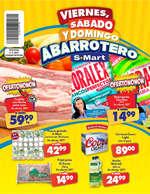 Ofertas de S-Mart, Viernes, Sábado y Domingo Abarrotero Solidaridad
