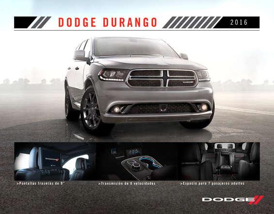 Ofertas de Dodge, Durango 2016