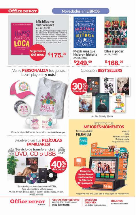 Ofertas de Office Depot, Folleto mayo 2019