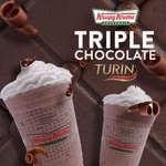 Ofertas de Krispy Kreme, Triple chocolate Turin