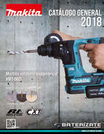 Ofertas de Makita, catalogo general 2018