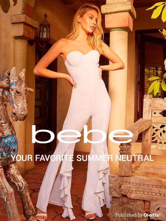 Ofertas de Bebe, Summer neutral