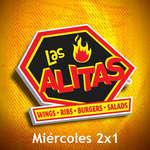 Ofertas de Las Alitas, Miércoles 2x1