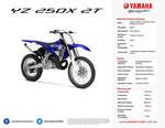 Ofertas de Yamaha, YZ 250FX 2T