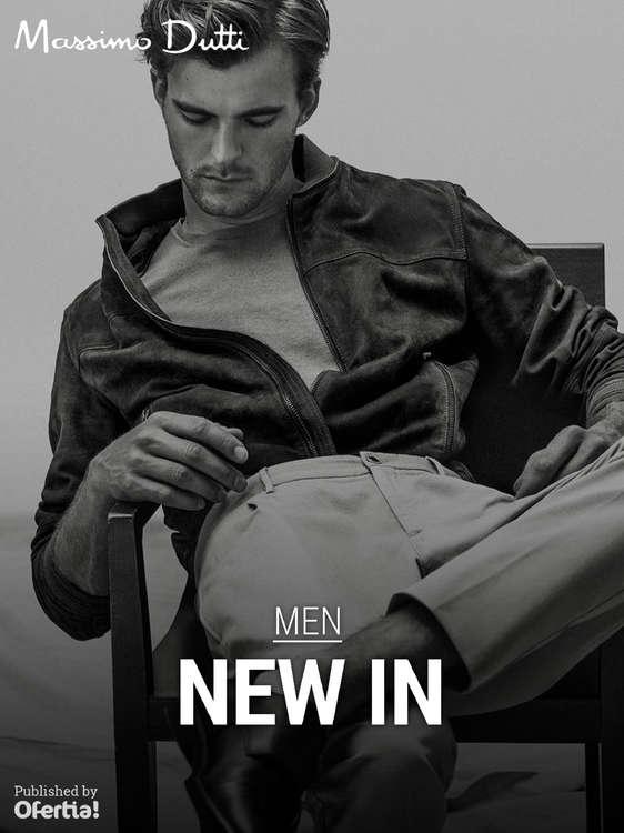 Ofertas de Massimo Dutti, Men - New In