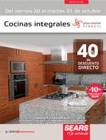Ofertas de Sears, Cocinas Integrales Grupo Industrial Ferreti