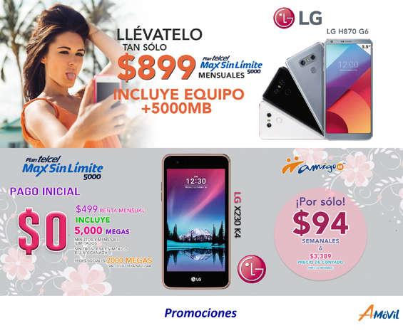 Ofertas de A-Móvil, Promociones Telcel