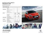 Ofertas de Peugeot, Peugeot 208