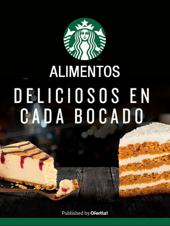 Ofertas de Starbucks, Alimentos