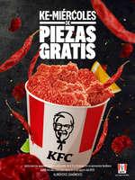 Ofertas de KFC, Ke-Miércoles de piezas gratis