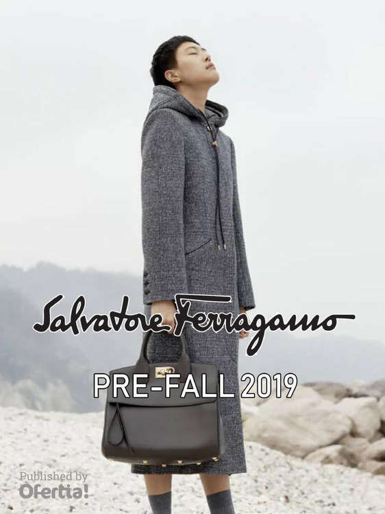 Ofertas de Salvatore Ferragamo, Pre Fall 2019