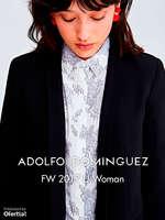 Ofertas de Adolfo Dominguez, FW 2017 U Woman