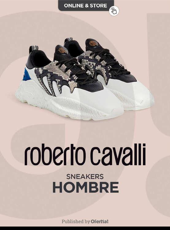 Ofertas de Roberto Cavalli, Sneakers Hombre