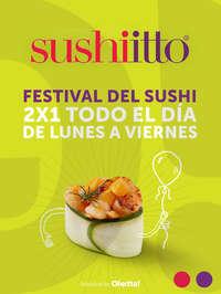 Festival del Sushi 2x1
