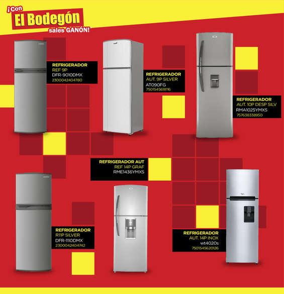 Ofertas de El Bodegón, Folleto Línea Blanca