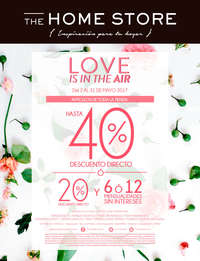Love is in the Air 40% de descuento