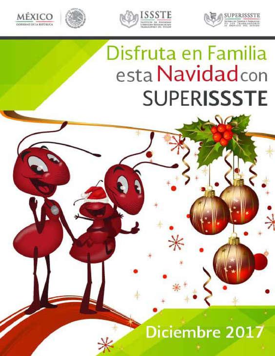 Ofertas de SUPERISSSTE, Disfruta en familia esta navidad
