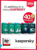 Ofertas de Office Depot, Buen Fin - Kaspersky