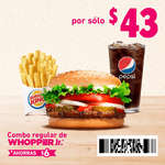 Ofertas de Burger King, Cuponera