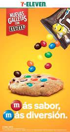 Nuevas galletas con M&M's