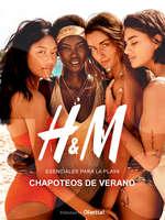 Ofertas de H&M, CHAPOTEOS DE VERANO
