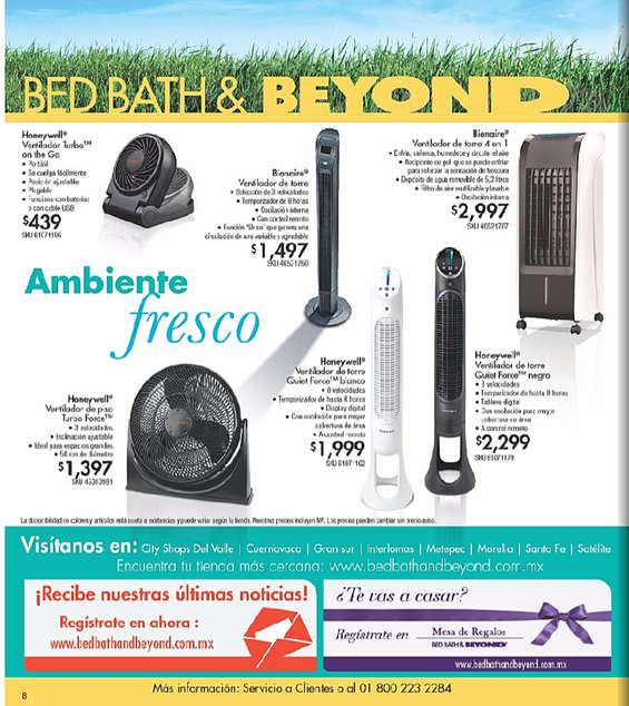 Bed Bath And Beyond Mexico Catalogo
