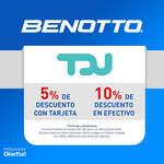 Ofertas de Benotto, Descuento TDU