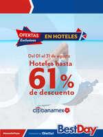 Ofertas de Best Day, Hoteles hasta 61% de descuento - Citibanamex