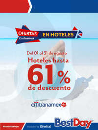 Hoteles hasta 61% de descuento - Citibanamex