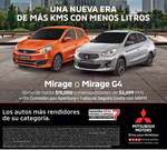 Ofertas de Mitsubishi Motors, Mirage o Mirage G4