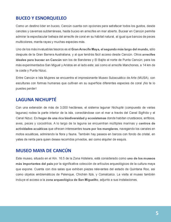 Ofertas de Best Day, Guia Cancún