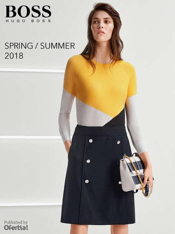Ofertas de Hugo Boss, Spring Summer 2018