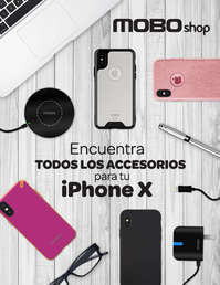 Encuentra todos los accesorios para tu iPhone X