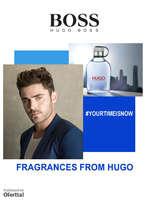 Ofertas de Hugo Boss, Your Time is Now