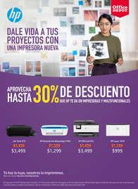 30% de descuento en impresoras y multifuncionales