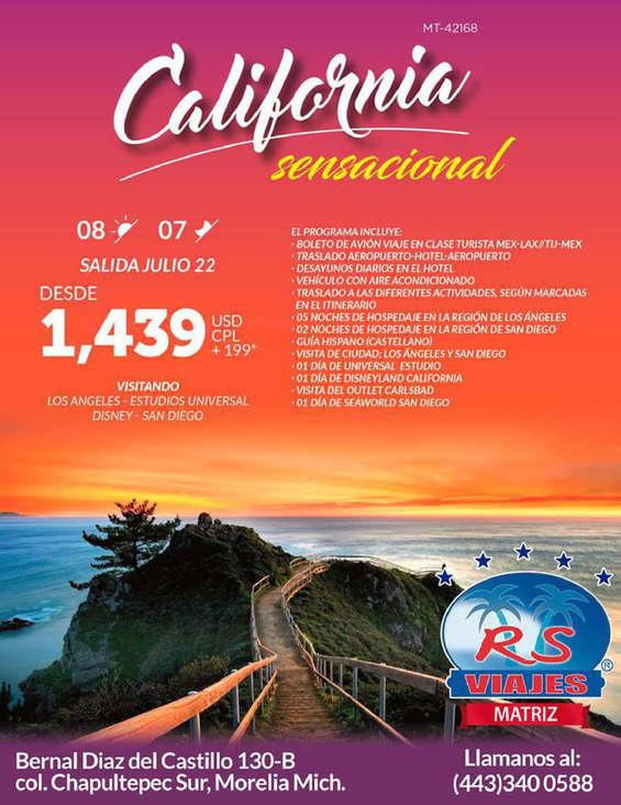 75967dc2c Viaje a los Estados Unidos en Tacámbaro de Codallos - Catálogos ...
