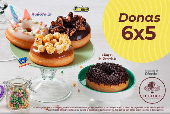 Ofertas de El Globo, Donas 6x5