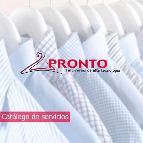 Ofertas de Tintorerías Pronto, Servicios