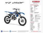 Ofertas de Yamaha, YZ 250F