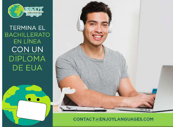Ofertas de Enjoy Languages, Estudia el bachillerato