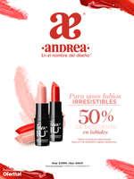 Ofertas de Andrea, 50% en Labiales