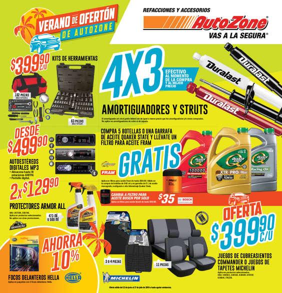 Ofertas de AutoZone, Verano de ofertón
