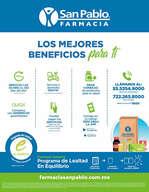Ofertas de San Pablo Farmacia, Los mejores beneficios para ti