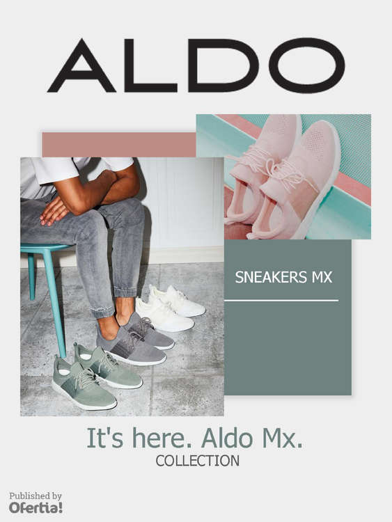 Ofertas de Aldo, Sneakers Mx